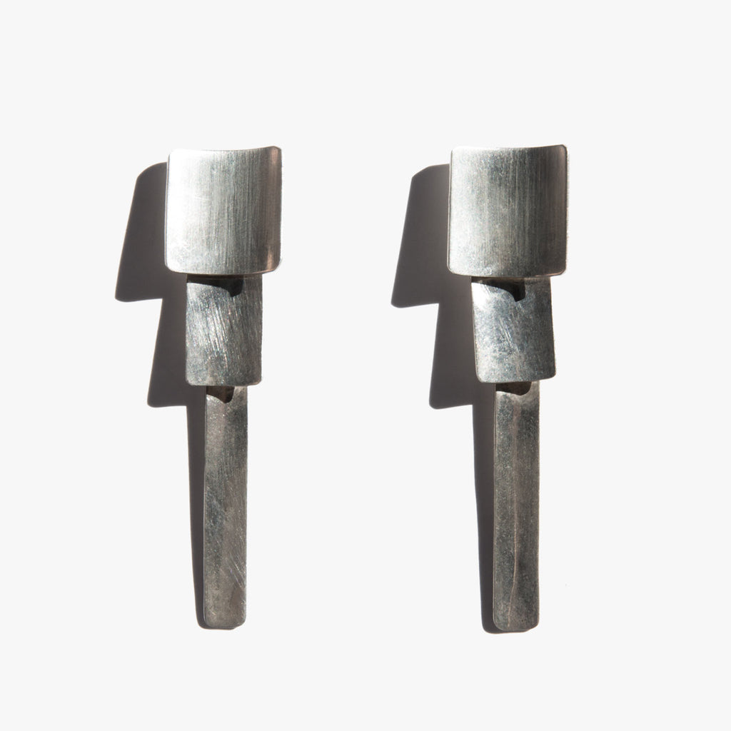Sculptural Tier Earrings