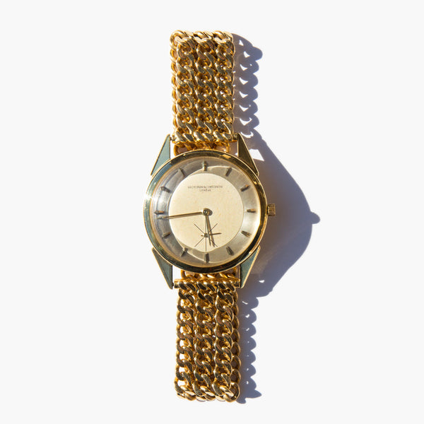 Vacheron & Constantin 18k Gold Watch