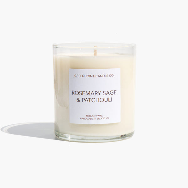 Greenpoint Candle Company Rosemary, Sage, and Patchouli