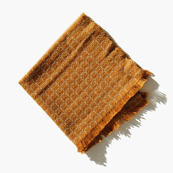 Peruvian Cotton Patchwork Weave Face Cloth