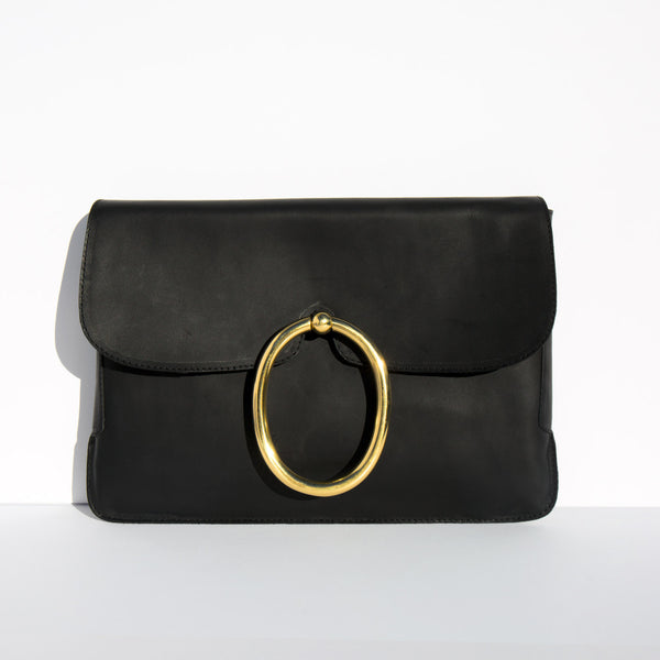 A Détacher Black Lou Clutch