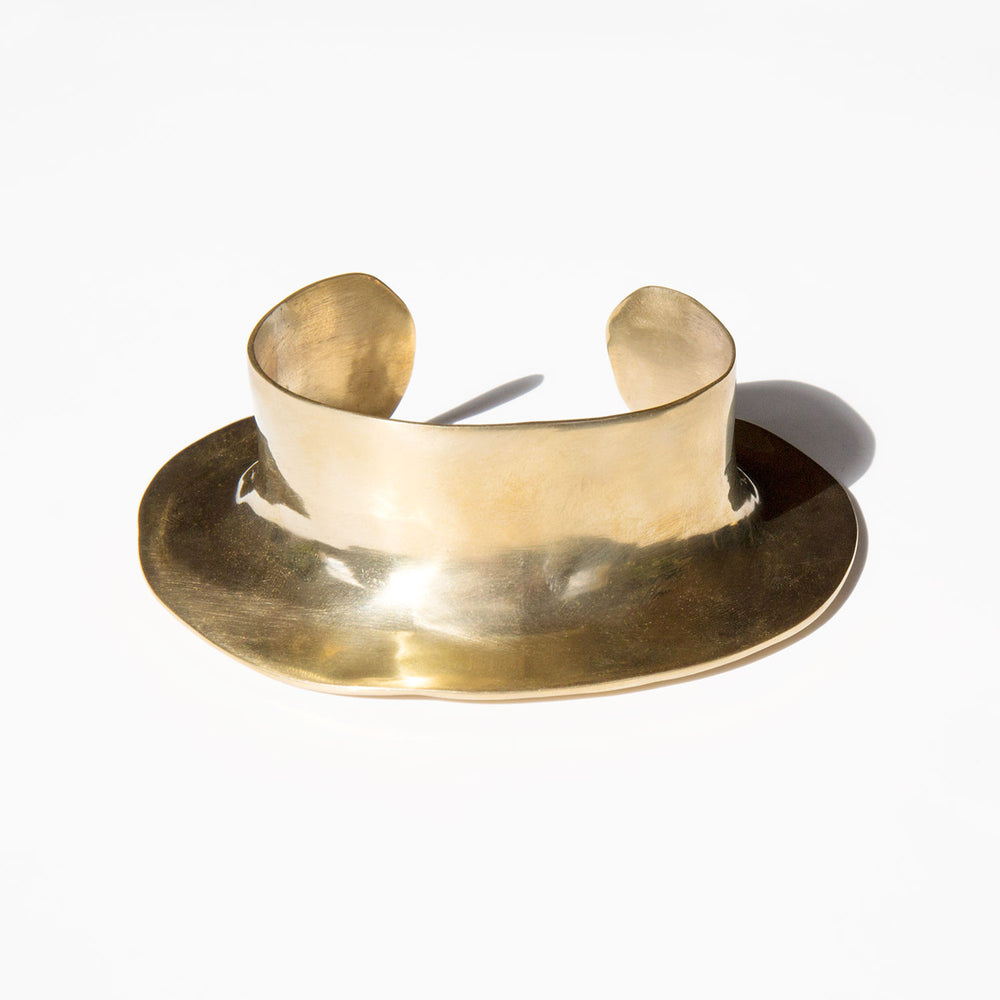 Ariana Boussard-Reifel Brass Despina Cuff kindred black