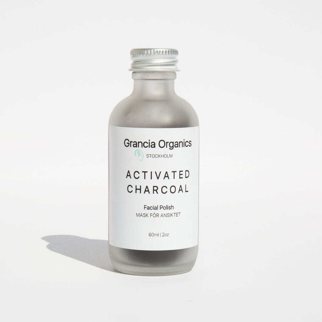 Grancia Organics Activated Charcoal Facial Polish