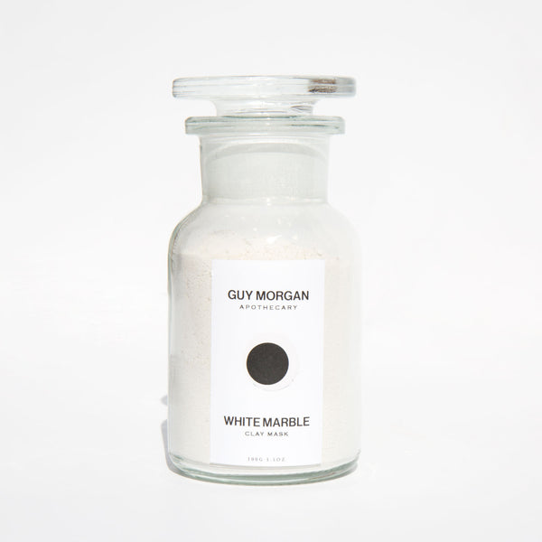 Guy Morgan White Marble Clay Mask