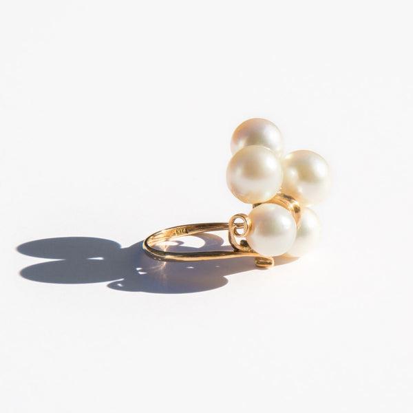 Japanese Akoya Pearl Ring