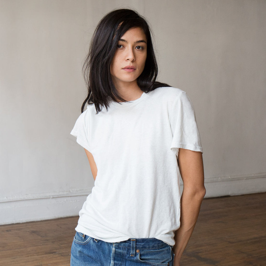 Jungmaven Optic White 7 Oz Baja Tee