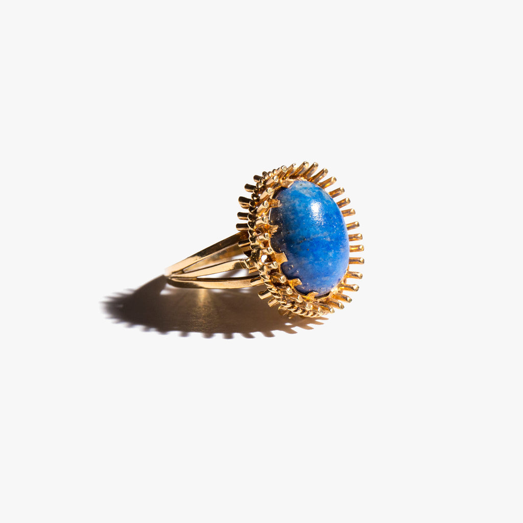 Lapis Monarch Ring