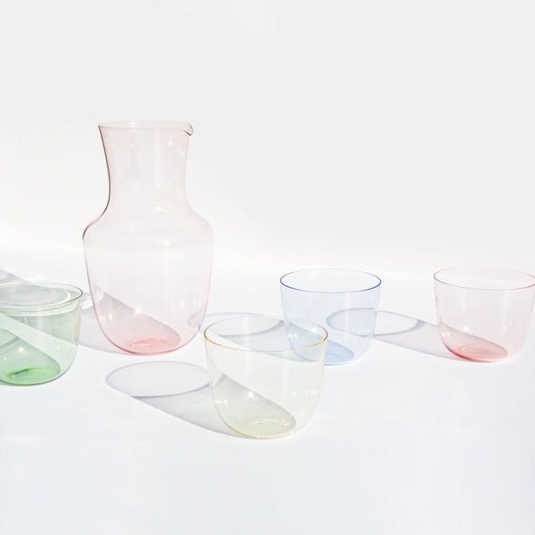 Lobmeyr Alpha Crystal Pitcher and Tumblers