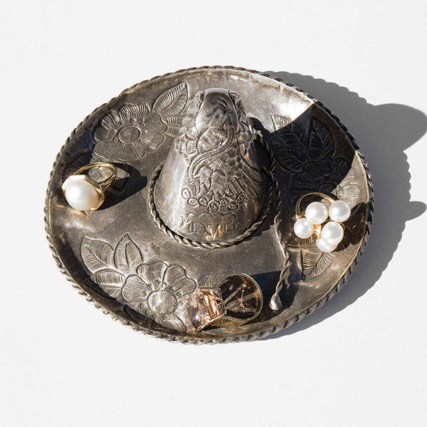 Sterling Silver Mexican Bureau Ring Dish