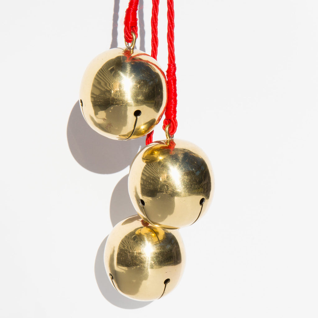 Oversized Brass Bells