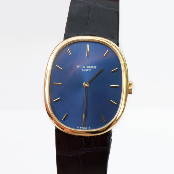 Vintage Patek Philippe Ellipse 18k Yellow Gold Watch