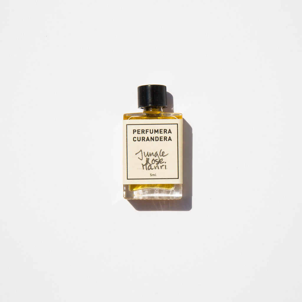 Perfumera Curandera Jungle Rose Mariri Perfume Oil