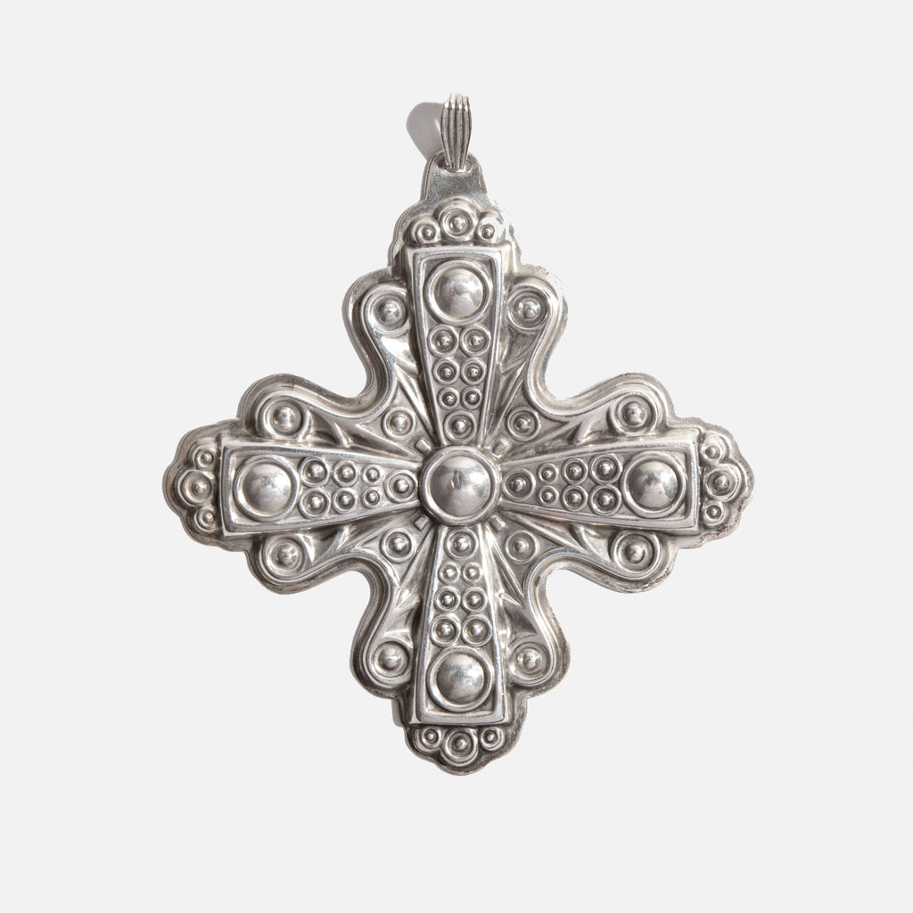 Reed and Barton Sterling Silver Christmas Cross