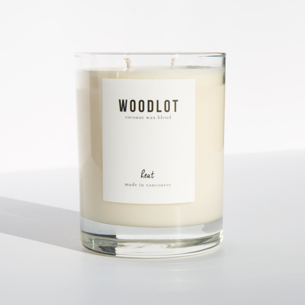 Woodlot Heat Candle