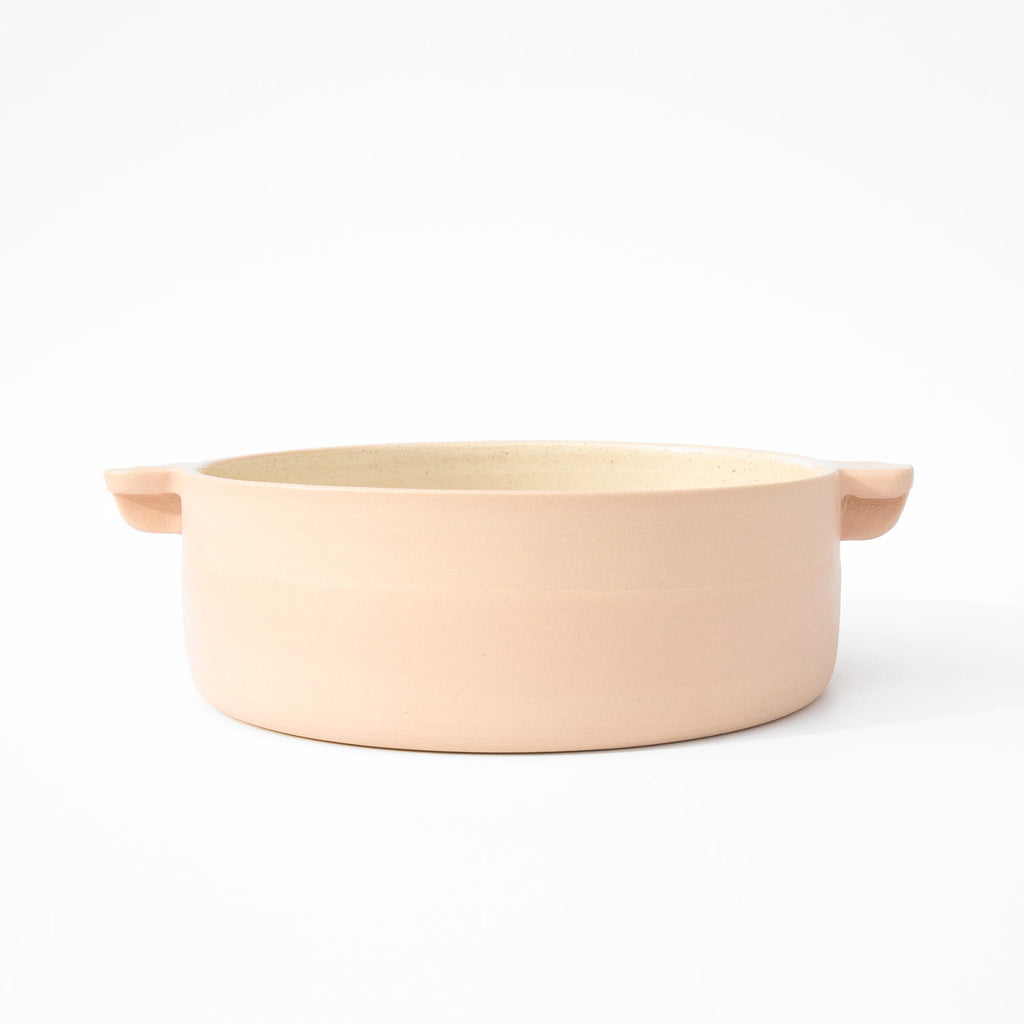 Workaday Handmade Medium Pink Casserole