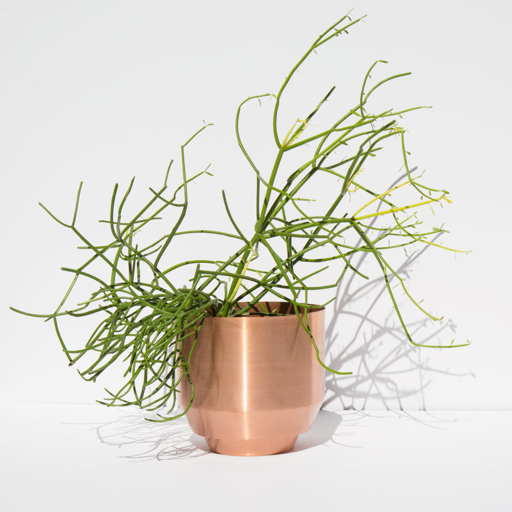 Yield Spun Copper Planter