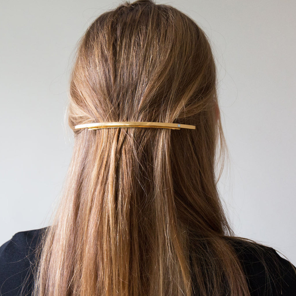 Sylvain Le Hen Gold Hair Barrette