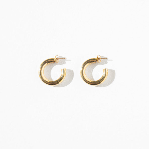 Laura Lombardi Medium Hoops