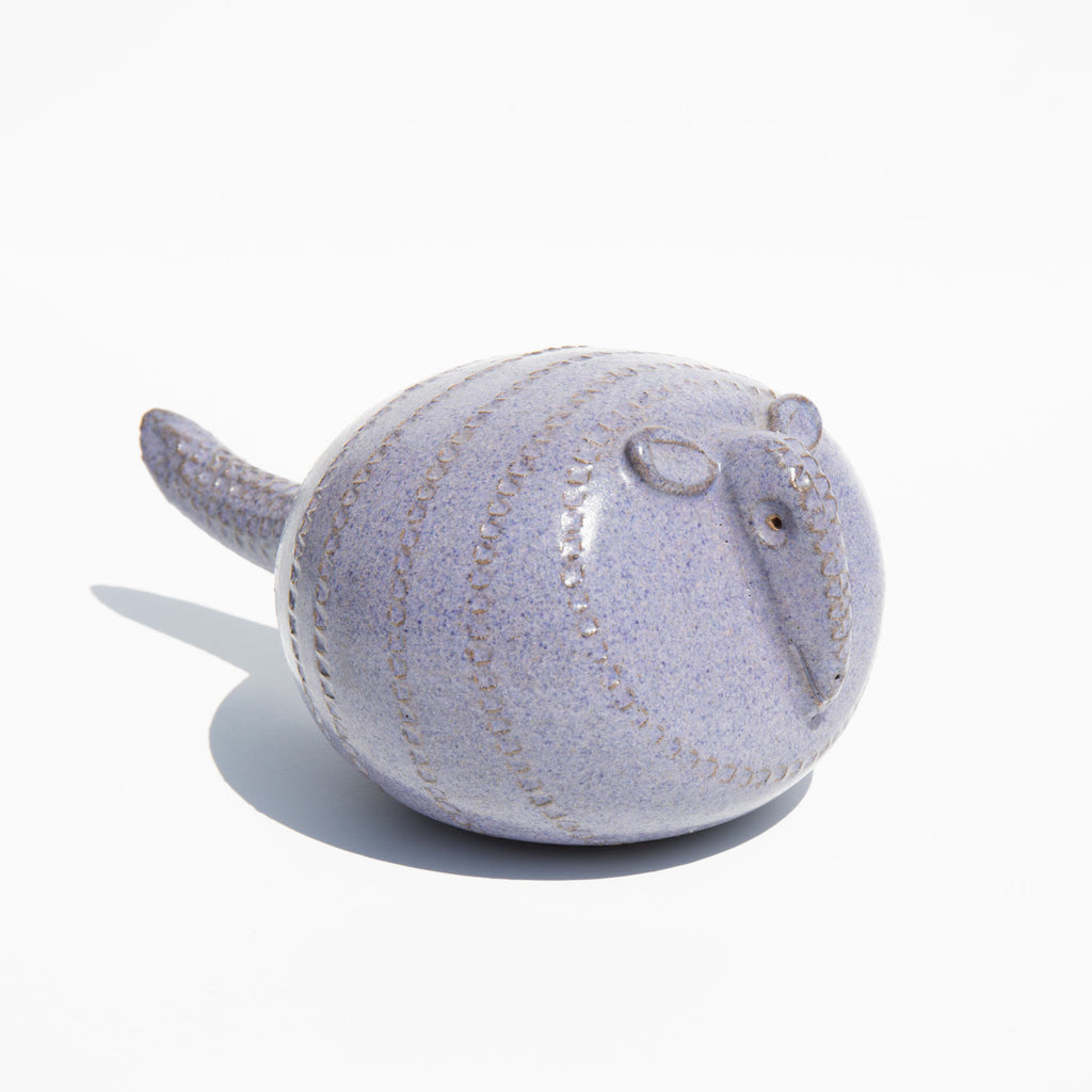 Armadillo Pottery Rattle