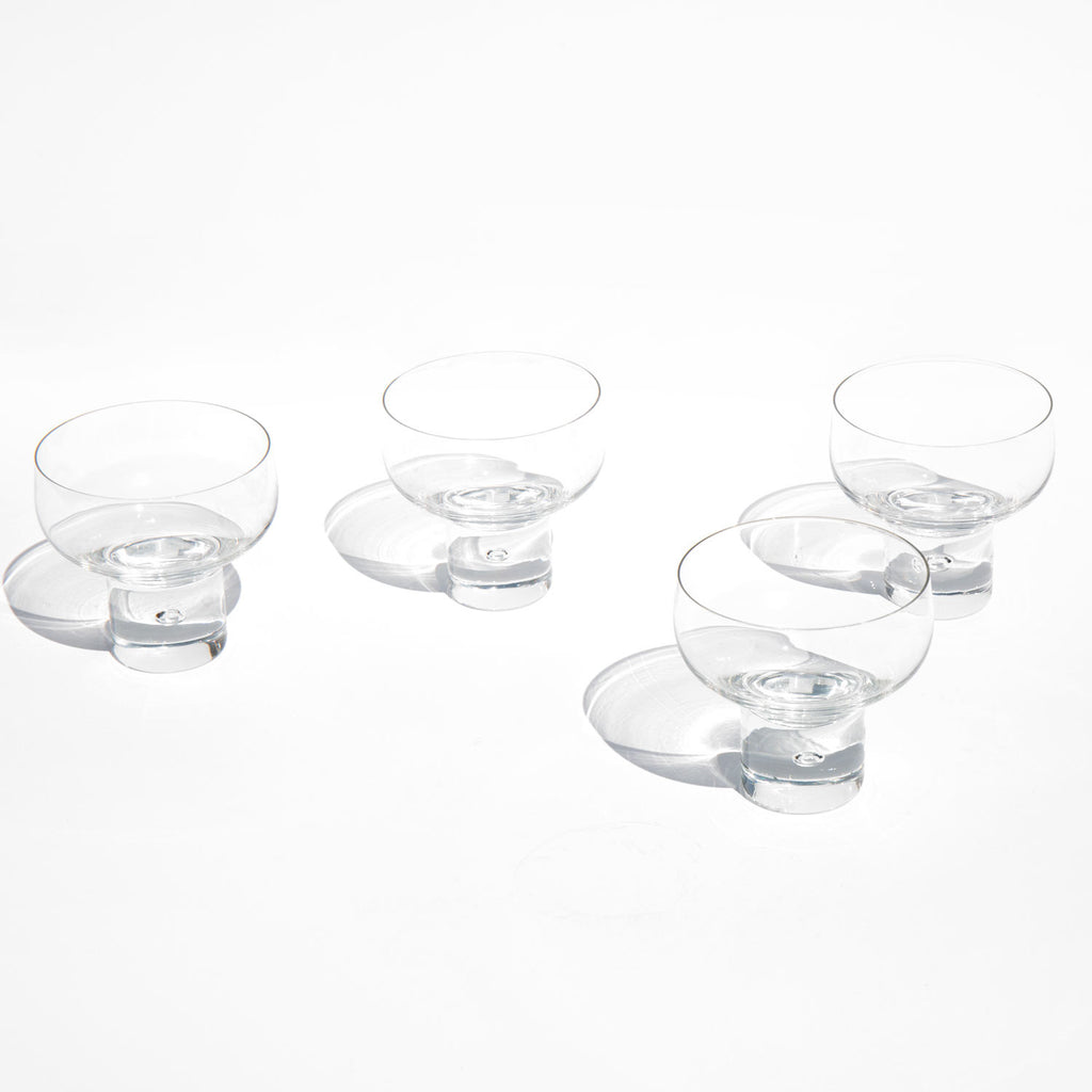 Bubble Cocktail Glasses