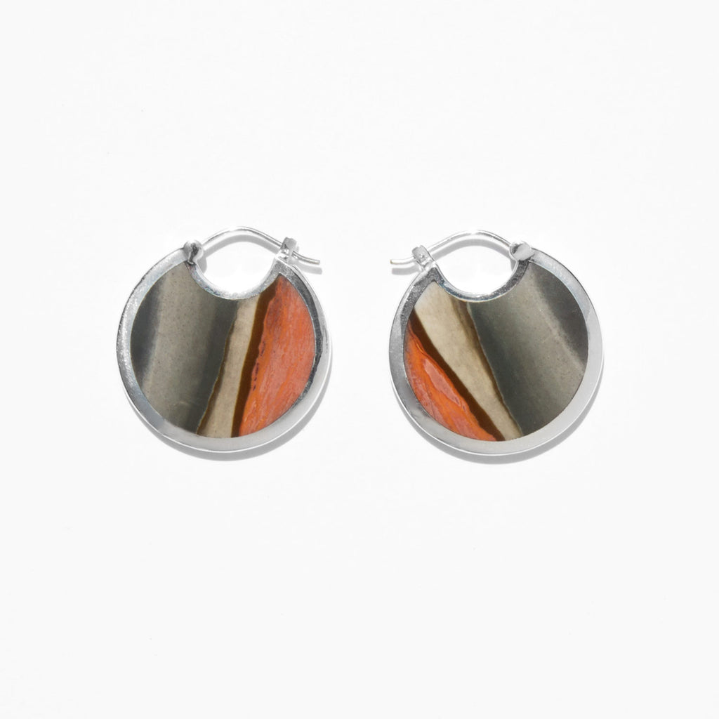 Pamela Love Savannah Jasper Large Mojave Hoops