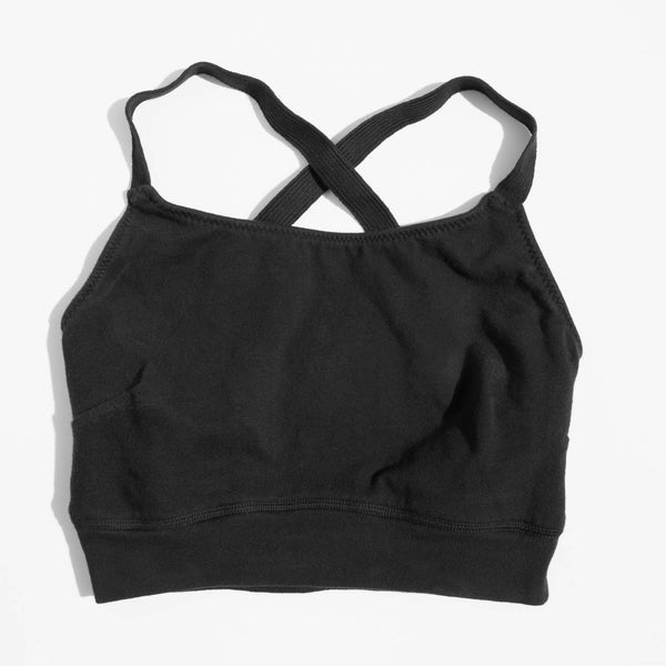 Pansy Black Sports Bra