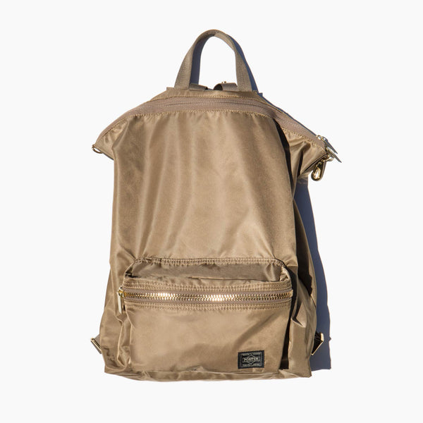 Porter Sand Nylon 2 Way Pack