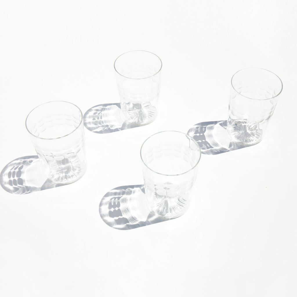 Etched Juice Glasses