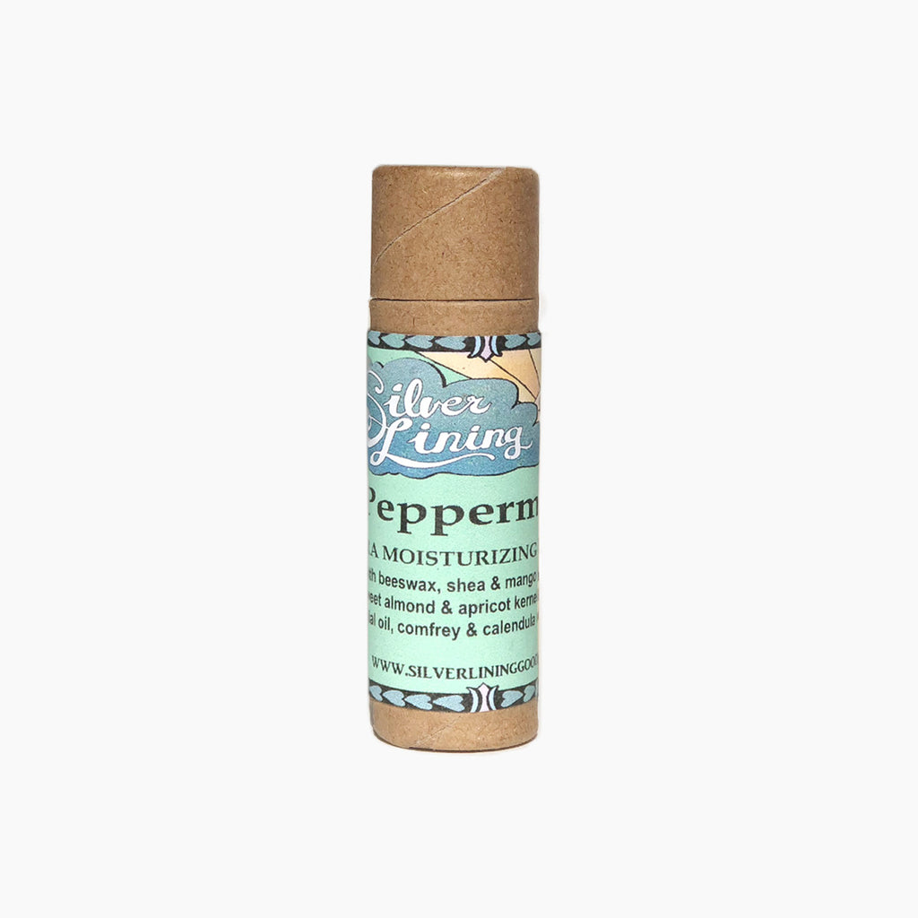 Silver Lining Peppermint Lip Balm