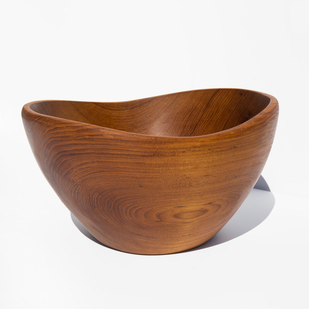 Solid Teak Bowl