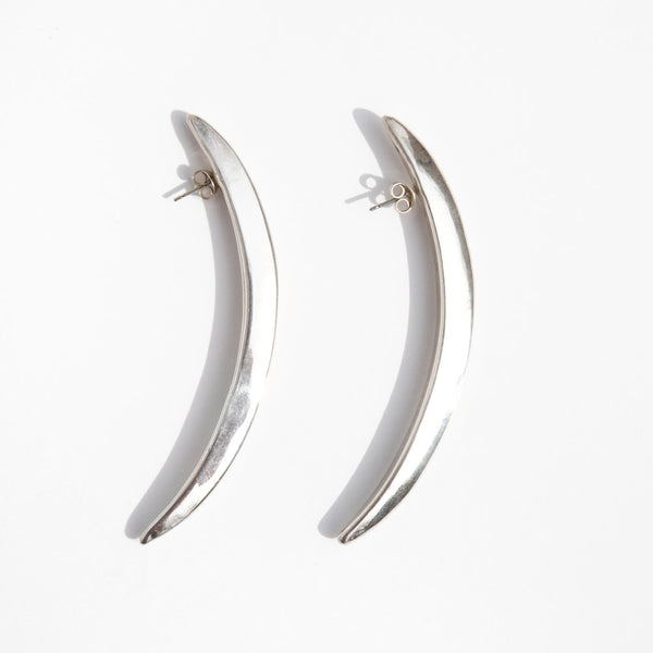Sterling Spear Earrings