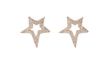 Large Star Earring