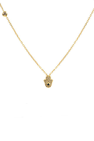 full Hamsa necklace