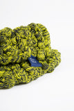 TARLEE Eco Fashion Made in Scotland Wool Yellow Green XL Snood
