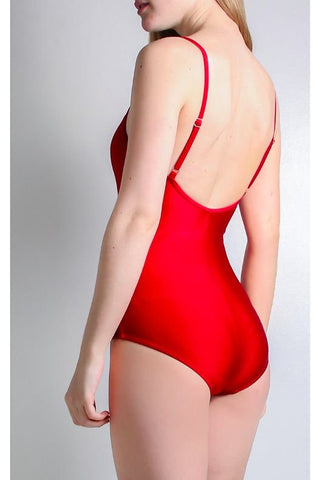 Red Laura Swimsuit Tall