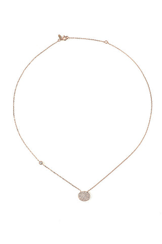Oval Disc necklace