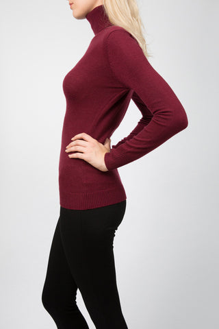 Rouge Polo Neck Jumper