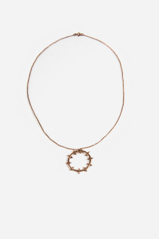 Helm of Disguise Mini Pendant Rose Gold