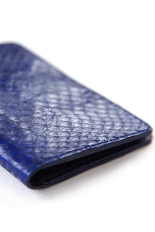 Blue Salmon Card Holder