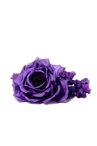 Purple Blossom Headband