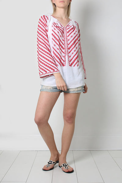 Red Eternity Blouse