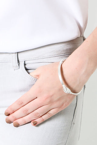 Silver Becca Bangle