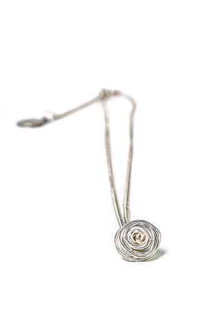 Silver Asteria Necklace