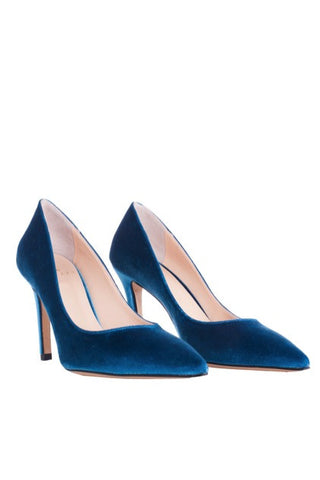 Blue San Marino High Heels