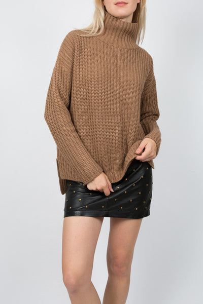 TARLEE Lily & Carter camel chunky jumper knitwear