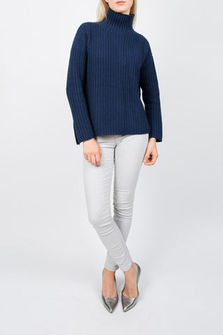 TARLEE Lily & Carter navy chunky jumper knitwear
