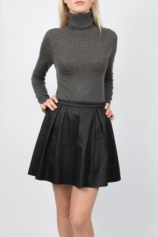 Charcoal Polo Neck Jumper