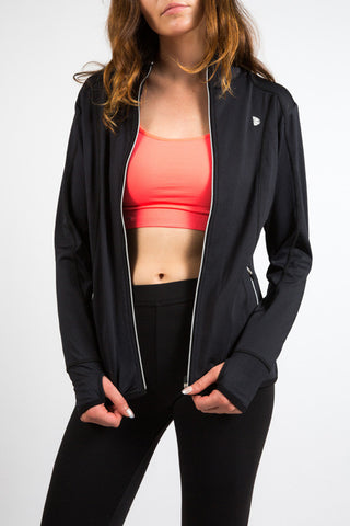 Black Athletic Jacket