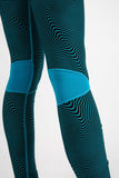 Blue Curve Leggings