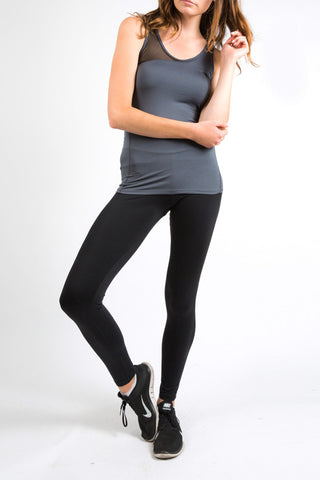 Midnight Grey Fine Mesh Energy Tank